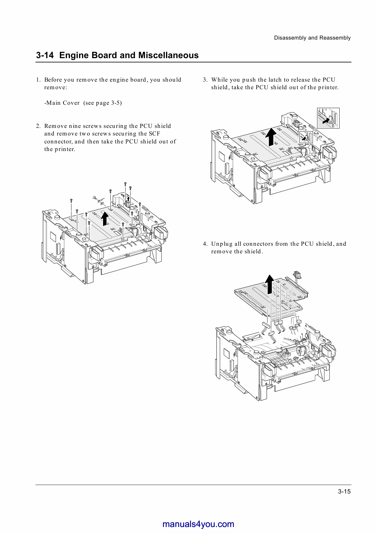 Samsung Laser Printer Ss Parts And Service Manual